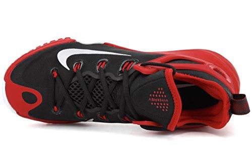 Nike Zoom Hyperrev 2015, Scarpe Baseball da Uomo Nero / Argentato / Rosso / Bianco (Blk / Pr Pltnm-unvrsty Rd-white)