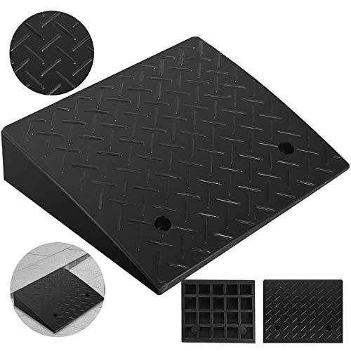 Mophorn Rubber Curb Ramp 4.3