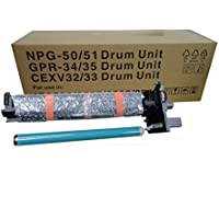 Aotusi Compatible Drum Unit Replacement for Canon GPR 34 35 NPG 50 51 CEXV 32 33 for use in Canon Copier IR 2520 2525 2530 2545