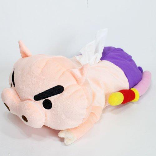 Crayon Shin-chan stuffed tissue cover (BuriburizaEmon) KS-5517226BU (Tissue Crayons)
