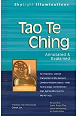 Tao Te Ching: Annotated & Explained (SkyLight Illuminations) Paperback