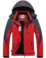 CAMEL CROWN Womens Waterproof Rain Jacket...