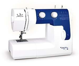 JATA MC725 - Máquina de coser, 20 diseños de puntada