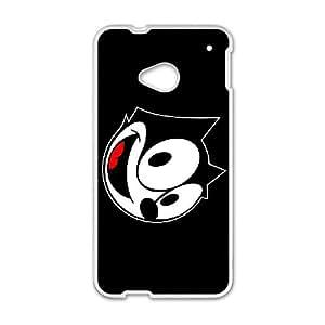 feli the cat HTC One M7 Cell Phone Case White Gimcrack z10zhzh-3321902
