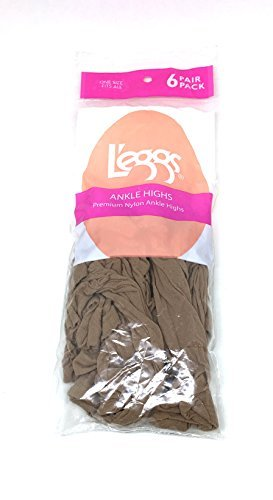 ce30dcc5823ef Image Unavailable. Image not available for. Color  L eggs Ankle Highs Sheer  Toe