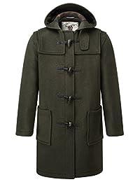 Mens Classic Fit Duffle Coat -- Olive