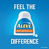 Aleve Back & Muscle Pain Tablets, Naproxen Sodium