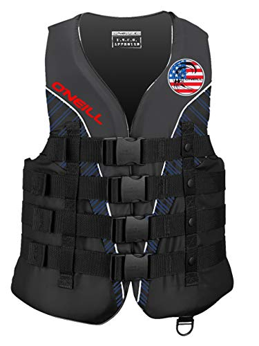 O'Neill Mens Superlite USCG Life Vest L Patriot (4723IA) ()