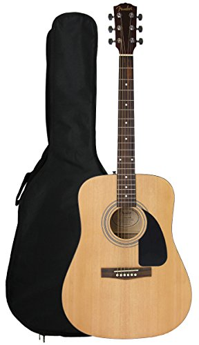 fender-fa-100-limited-edition-dreadnought-acoustic-guitar-with-gig-bag-natural-satin