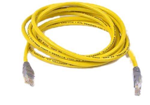 Belkin R7J304 10-Foot CAT5e UTP Crossover Cable (Yellow) by Belkin ()