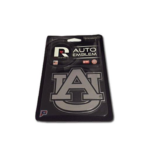 Rico Industries NCAA Auburn Tigers Chrome Finished Auto Emblem 3D Sticker ()