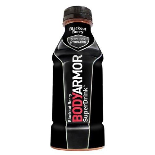 BodyArmor SuperDrink, Blackout Berry, 16-Ounce Bottles (Pack of 12)