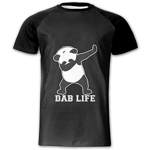 Rock Dab Panda Dance Men 3D Custom T-Shirt Youth Raglan Tee Shirt Adult Tops 1792c618d