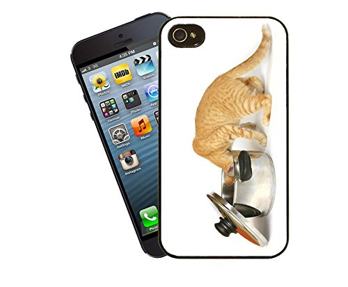 Katze 024 iPhone Fall - passen diese Abdeckung Apple Modell iPhone 5 / 5 s (nicht 5c) - von Eclipse-Geschenk-Ideen
