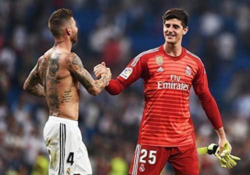 Desconocido Thibaut Courtois y Sergio Ramos Real Madrid la Liga ...