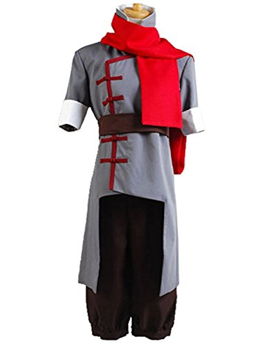 Custom Made Avatar Costumes (TISEA Korra Mako Halloween Cosplay Costume Grey Version (Custom Made, Female))