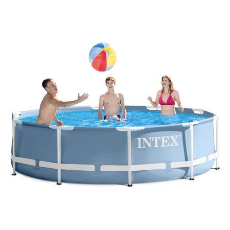 Intex 12ft X 30in Prism Frame Pool Set with Filter Pump -
