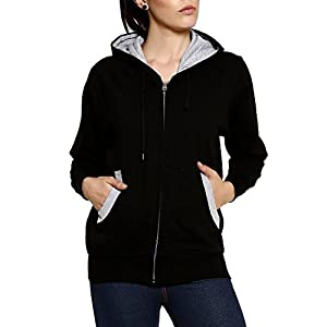 GOODTRY G Women's Cotton Hoodies-Black