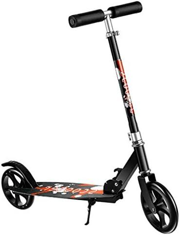 フリースタイルスクーター二輪車 3段階高さ調節可 スタンド付 トブレーキ付 機能充実 持ち運び便利 子供~大人用 プレミアムスクーター 安定 立ち乗り ストリートサーフィン