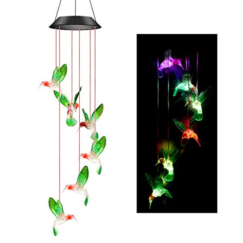 Colorful Hanging Outdoor Lights