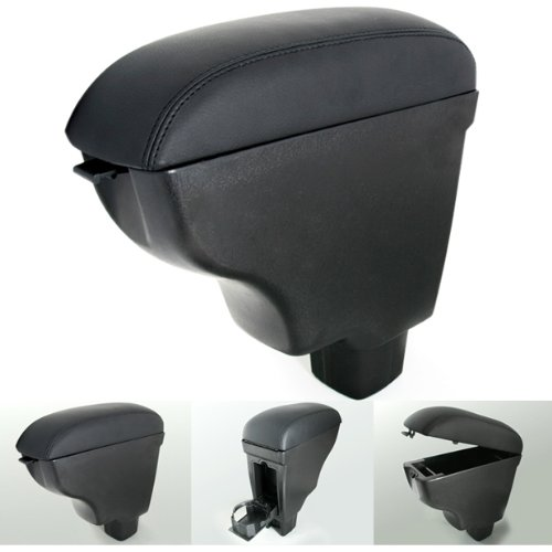 For Suzuki SX4 SX-4 2006-2009 06 07 08 09 Black Leather Center Armrest Console Storage Box Stockpile Durable 99_OnLine