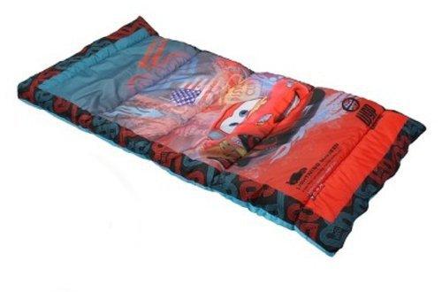 Disney Cars Lightning McQueen Kid's Slumber Sleeping Bag (Disney Cars Sleeping Bag)