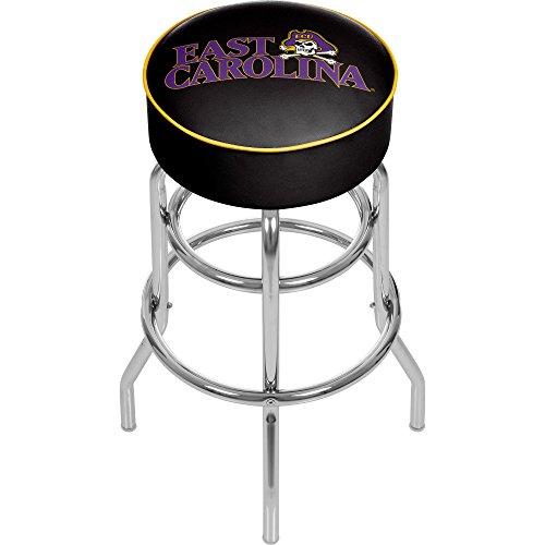 Trademark Gameroom NCAA East Carolina University Padded Swivel Bar Stool