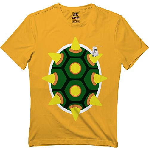 Yellow King Turtle Suspenders Halloween Cute Matching Team