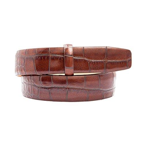 And 1 Embossed Belt (Trafalgar Alligator Embossed Leather 1