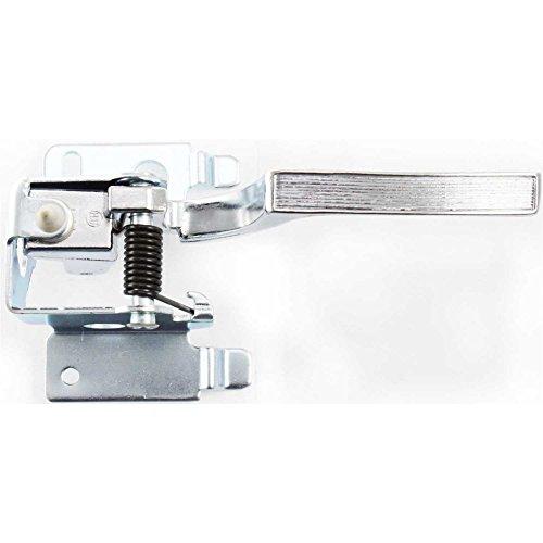 - Evan-Fischer EVA18772020885 Interior Door Handle for FLEETWOOD 80-86/BROUGHAM 87-92 Front OR Rear LH Inside Metal Chrome