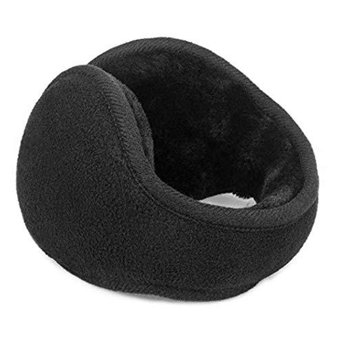 Tiowea Men Fashion Winter Foldable Solid Thicken Ear Warmer Earmuffs Earmuffs by Tiowea (Image #2)