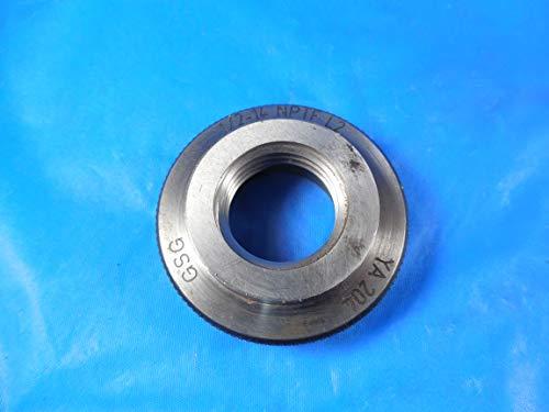 1/2 14 NPTF L2 Pipe Thread Ring GAGE .5 14.0 N.P.T.F.
