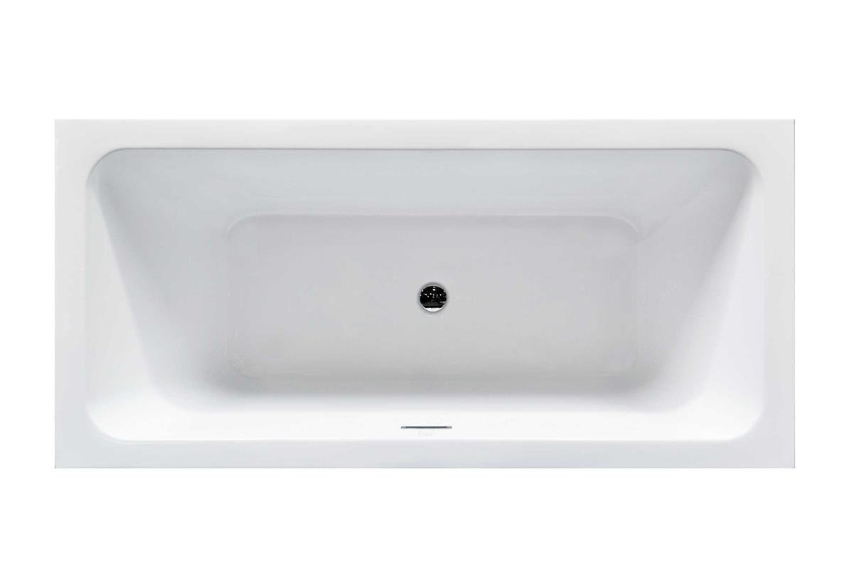 Virtu USA VTU-3567 Serenity 67'' x 31.3'' Freestanding Soaking Bathtub, White