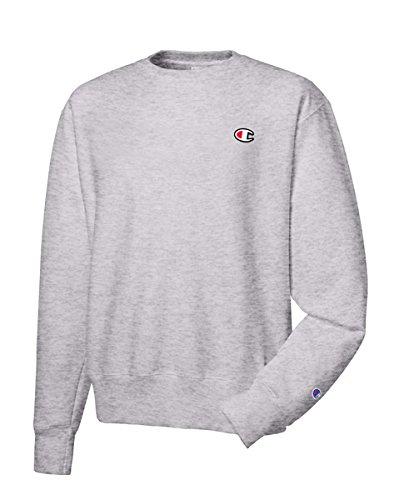Champion LIFE Men's Reverse Weave Sweatshirt, Oxford Gray, Small by Champion LIFE
