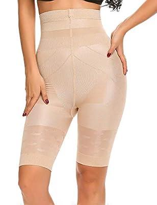 Shine Women's Breathable Slimming Shapewear Fat Burning Slim Shape Bodysuit & Pants Cincher