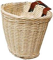 Lixada Cart Basket Rattan Children's Bike Basket Waterproof Shopping Basket Rattan Basket Bicycle Basket S