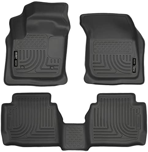 Husky Liners Fits 2013-2016 Ford Fusion Energi/Titanium, 2013-2016 Lincoln MKZ Weatherbeater Front & 2nd Seat Floor Mats,Black,99751