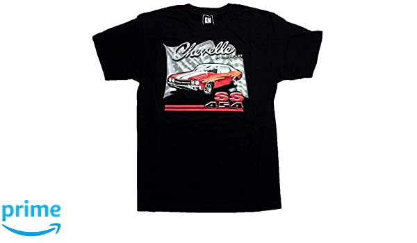 070392f5 Amazon.com: Chevy Chevelle SS 454 Men's T-Shirt by JH Design: Clothing