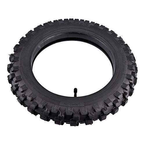 2.50x10'' Knobby Tyre 2.5-10 Front + Rear Tire w/ TR87 Inner Tube for Mini Dirt Bike XR50 CRF50 PW50 SDG107 KTM 50SX Morini Razor SX500 by Wingsmoto (Image #4)