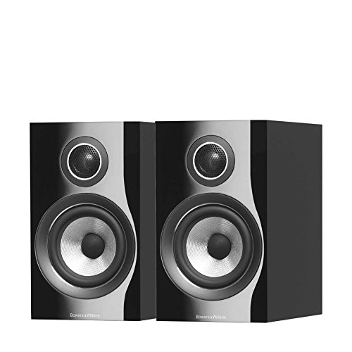 Bowers & Wilkins (B&W) 2way Book Shelf Type Speaker 707S2-B (Piano Black) (1pair)【Japan Domestic genuine products】