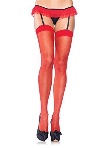 Leg Avenue Womens Sheer Stockings ()