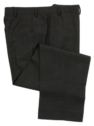 Ralph Lauren Wool Dress Pants For Men Classic Flat Front Style Trousers