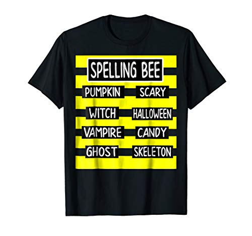 Spelling Bee Funny Pun Halloween Costume for Teachers