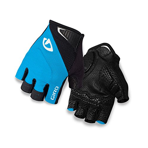 Giro Monaco Glove - Men's Blue Jewel/Black Small