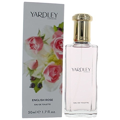 Yardley of London Eau De Toilette Spray for Women, English Rose, 1.7 Ounce ()