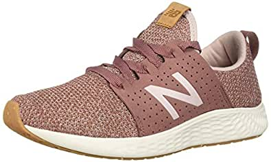 New Balance Women's SPT V1 Fresh Foam Sneaker, Earth red, 5.5 B US