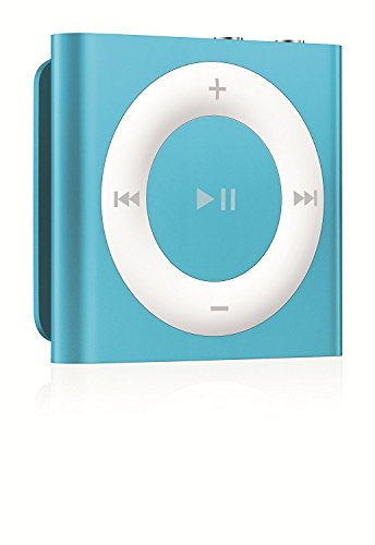 IPod Shuffle 2GB Blue [Discontinued by Manufacturer] with Generic Headset and Usb Charging cord Packaged in White Box