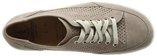 Ganter Giulietta, Weite G - Zapatos Derby Mujer Beige