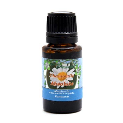 Flora Aromatics Chamomile (German Blue) Essential Oil 3% Jojoba 0.5 fl oz/15 ml