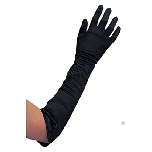 """Price comparison product image 19"""" Satin Opera Gloves Costume Accessory Adult Halloween"""